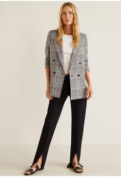 66fd73a6804 10% OFF Mango Check Suit Blazer RM 387.90 NOW RM 348.90 Sizes 34 36 38 40 42