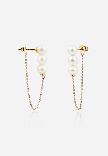monojewelry PEARL CHAIN EARRINGS 999EAAC2B74ED1GS_1