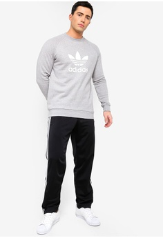 promo code 3e788 49dcc 55% OFF adidas adidas originals trefoil crew sweatshirt S  90.00 NOW S   40.90 Sizes S M L XL