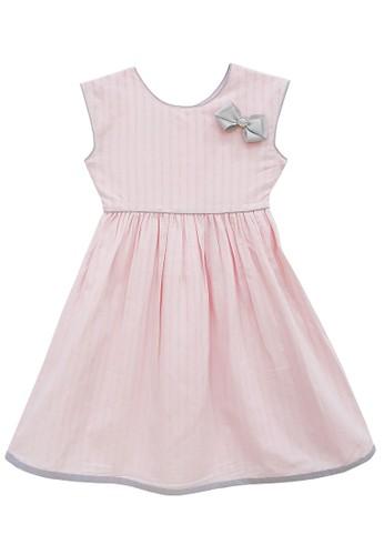 FIYORA pink Gisella Cotton Girl Dress B1E85KA805CA50GS_1