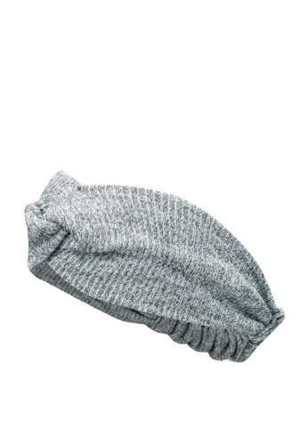 GLOBAL WORK grey Knitted Headband B256DKCCF03156GS_1