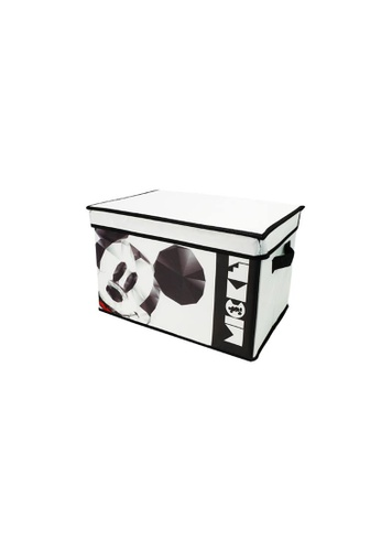 HOUZE HOUZE - Geometric  - Foldable Storage Box (Disney) - S 11BF9HL5F664F4GS_1
