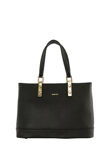SEMBONIA black SEMBONIA Synthetic Leather Tote Bag (Black) SE598AC0SBBVMY_1