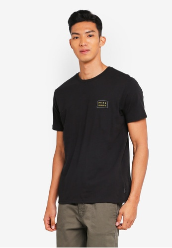 Billabong 黑色 素色印花T恤 D7795AA604F90BGS_1