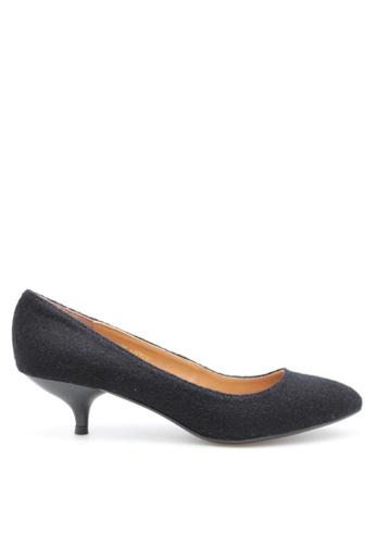 PRODUIT PARFAIT 黑色 雙色尖頭高踭鞋 39C9ASHC056C57GS_1