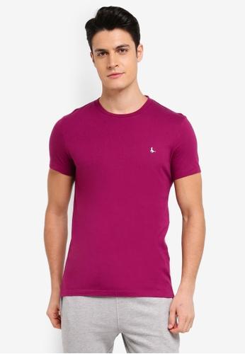 Jack Wills purple Sandleford T-Shirt 96CEDAA4D1DB30GS_1