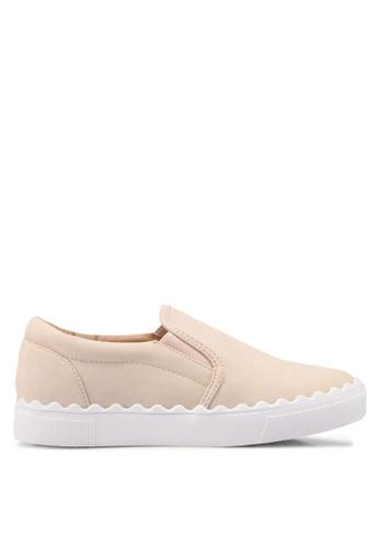 Something Borrowed 米褐色 休閒懶人鞋 4F02DSH7B2FFA4GS_1