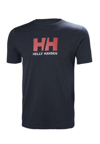 Helly Hansen navy HH M Logo T-Shirt Navy AE913AA34D64A3GS_1