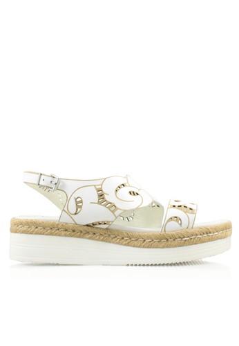 Rotelli white Flats Sandal RO968SH55KNSID_1