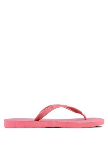 Cotton On red Bondi Flip Flops CO372SH0S1LZMY_1