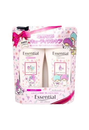 KAO KAO Essential Smart Shampoo + Conditioner Set (Sanrio - Arrange) 480ml (KAO-383679) E2C2DBEF8AD78FGS_1