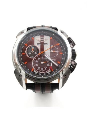 Mini brown Chronograph Watch MI057AC95BKAHK_1