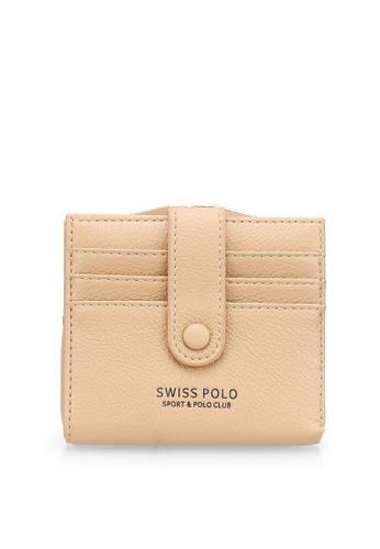 Swiss Polo beige Plain Mini Purse 36C47AC8ED862AGS_1