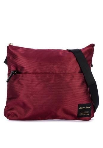 Legato Largo red Water Repellent Shoulder Bag 4F7E6AC6535390GS_1