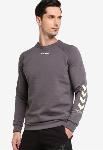 Hummel grey Isam Sweatshirt 8803CAA3CD27E3GS_1