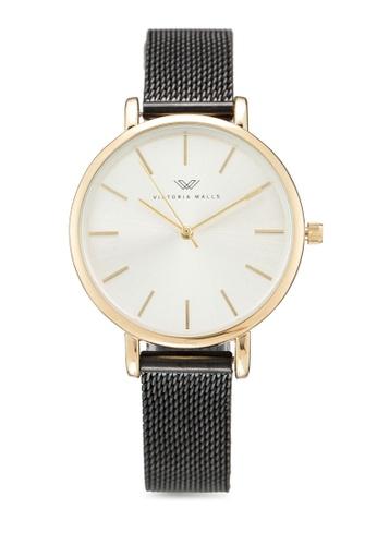 Victoria Walls Watches black Designer Watch-Elegant Milanese Mesh Strap C7A5BACA4D4FE5GS_1