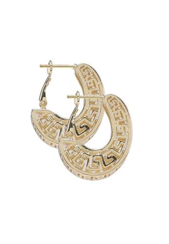 ALDO gold Umilirwen Pierced Earrings AA05DACD345E48GS_1
