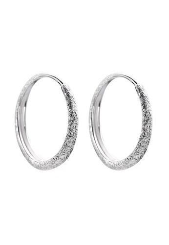 LYCKA silver LPP9013 Classic Elegance Hoop Hoop Earrings A3F29ACF0F5660GS_1
