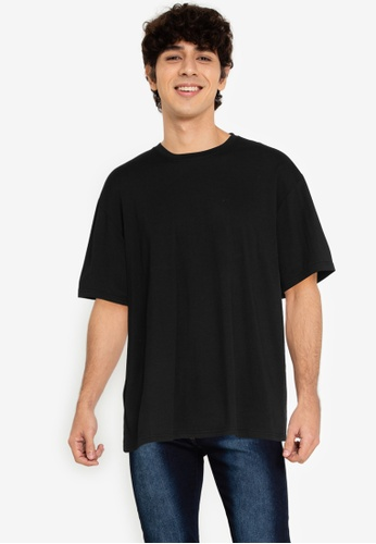 ZALORA BASICS black Wild Wild West T-Shirt 3F6F0AA2E79224GS_1