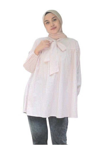 ABAME. pink SONA BLOUSE 3C3EFAACCBCC20GS_1
