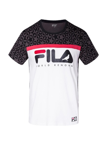 Fila black FILA x STAPLE T-shirt 818B0AA80DF2E1GS_1