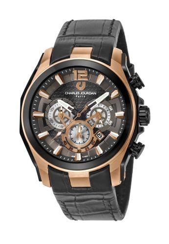 Charles Jourdan gold Charles Jourdan Men Watch Chronograph CJ1037-1545C 14E5EACC6E21A6GS_1