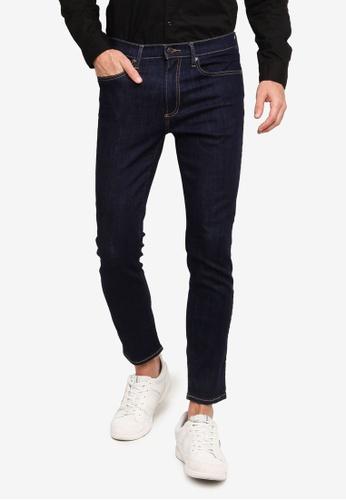 GAP blue Skinny Softwear Rinse Jeans A357AAAA0A2F84GS_1