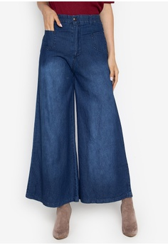 a5d630ddca1d7 Wide Legged Pants Available at ZALORA Philippines