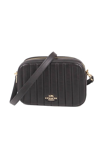 Coach black Coach Jes Quilted C1569 Crossbody Bag In Black CCF4EAC5BFDC27GS_1