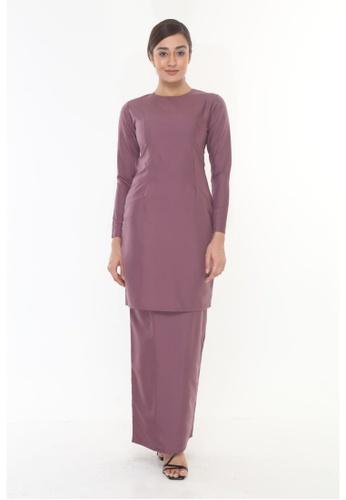 Amar Amran purple Baju Kurung Moden Qasandra F9222AABD0E416GS_1
