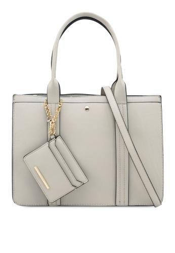 ALDO grey Zille Handbag EE498ACECDC2CAGS_1