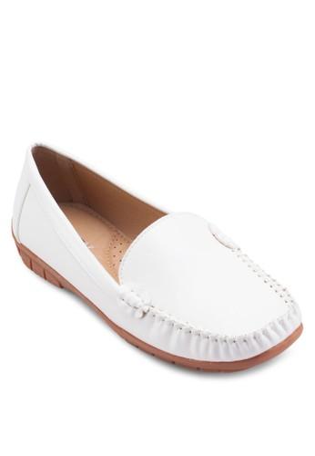 經典方頭esprit鞋子樂福鞋, 韓系時尚, 梳妝