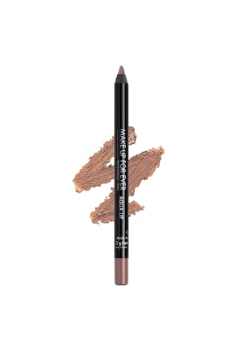 MAKE UP FOR EVER beige AQUA LIP - Waterproof Lip Liner Pencil 1,2G 1C 21222BEAA70566GS_1
