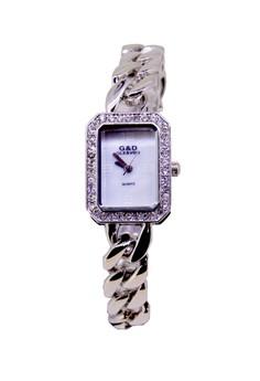 Japan Design Silver Plating Lady Fashion Crystal Watch