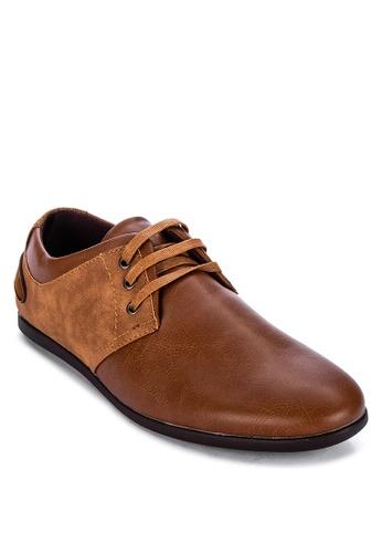 H2Ocean brown Saxon Solid Tone Lace Up Shoes 18AFDSH0BC8BD9GS_1
