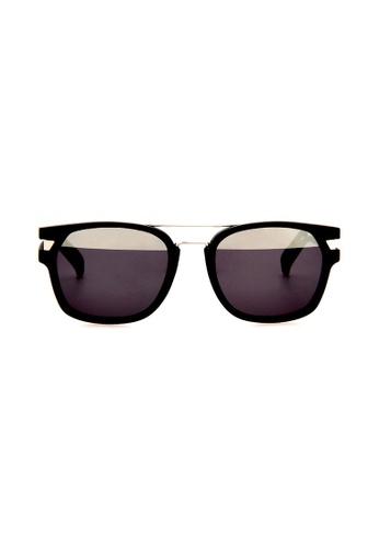 df4631e39b Police grey POLICE Neymar Jr 1 S1948 U28H Black Sunglasses PO706AC0RU2VMY 1