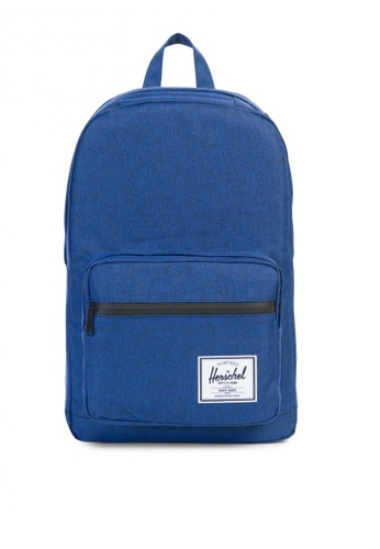 Herschel blue Pop Quiz Backpack HE958AC0K9YHPH_1