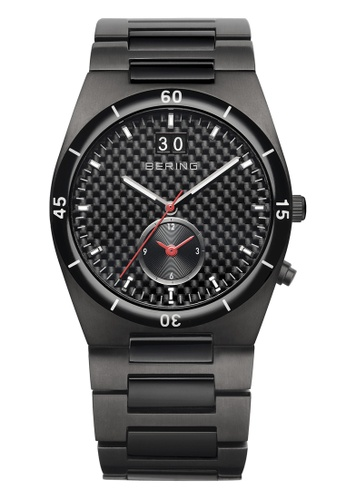 Bering grey Ceramic 32341-782 Black 41 mm Men's Watch B4BA6AC93E2158GS_1