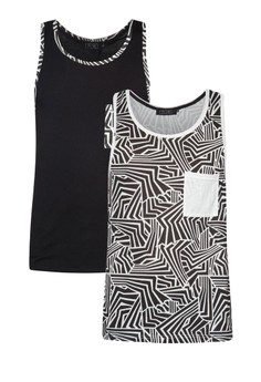 Abstract Geometrical Singlet Twin Pack