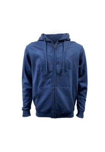 Universal Traveller blue Universal Traveller Unisex Embossed Design Fleece Jacket - FJ8332 872C2AA9B823A8GS_1