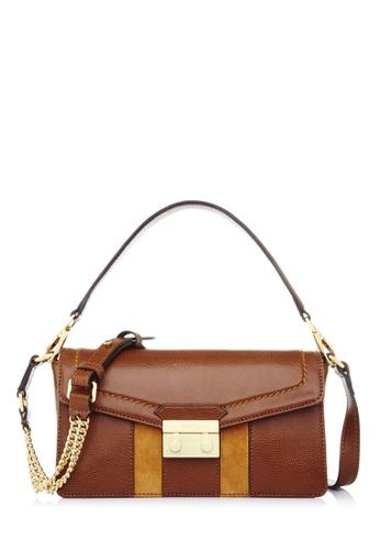 BONIA brown Brown Lexington Sling Bag 94E19AC784C043GS_1