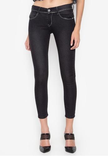 CHILI PEPPER black Cropped Skinny Jeans 40CECAA15E4A99GS_1