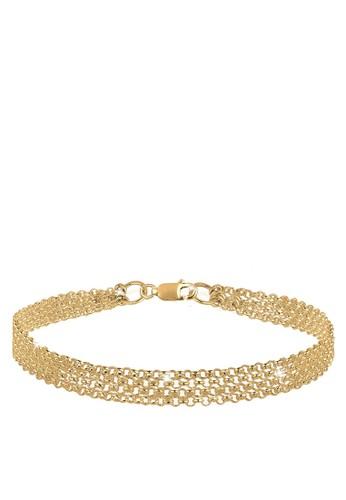 基本款鍊式 925 鍍esprit 台北金銀手鐲, 飾品配件, 手鐲 & 手環