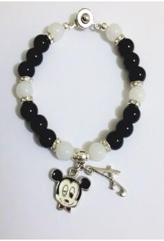 Mickey Glass Bracelet