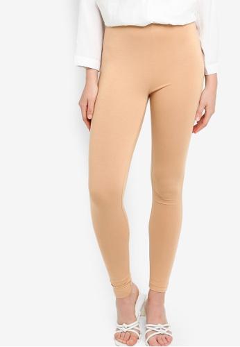 ZALIA BASICS 褐色 Slim Fit Inner Leggings 3EA4EAA86E6BAAGS_1