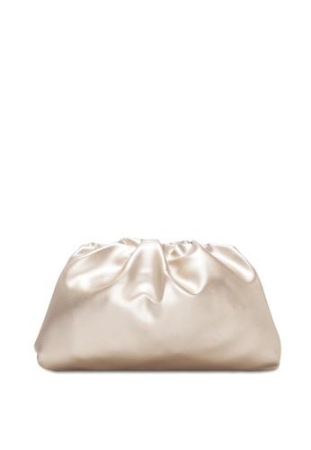 VINCCI gold Clutch Bag E0A96AC4619F85GS_1