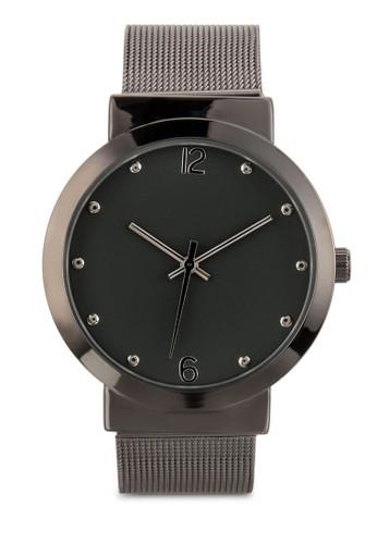 網眼不銹鋼圓錶,esprit香港門市 錶類, 淑女錶