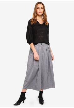 13da473cfd 50% OFF Sisley Contrasting Stripe Pants HK  845.00 NOW HK  423.00 Sizes 38  40 42 44