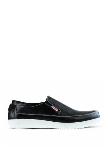 Sogno black Sepatu Slip On Pria GF.1111 4834FSH667AEBBGS_1