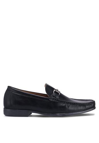 Carlton London black Slip On Loafers 3B18BSH4D72482GS_1